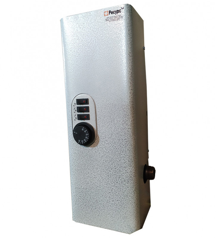 Электрический котел Ресурс ЭВПМ-4,5 4.5кВт одноконтурный