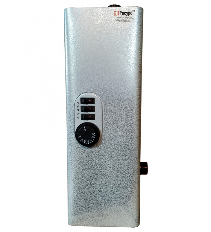 Электрический котел Ресурс ЭВПМ-6 6кВт одноконтурный