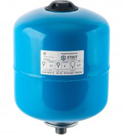 Гидроаккумулятор Stout STW-0001-000008 вертикальный 8л