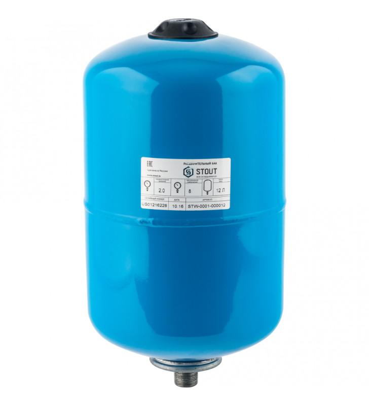 Гидроаккумулятор Stout STW-0001-000012 вертикальный