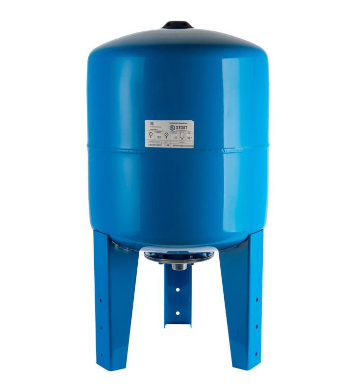 Гидроаккумулятор Stout STW-0002-000050 вертикальный