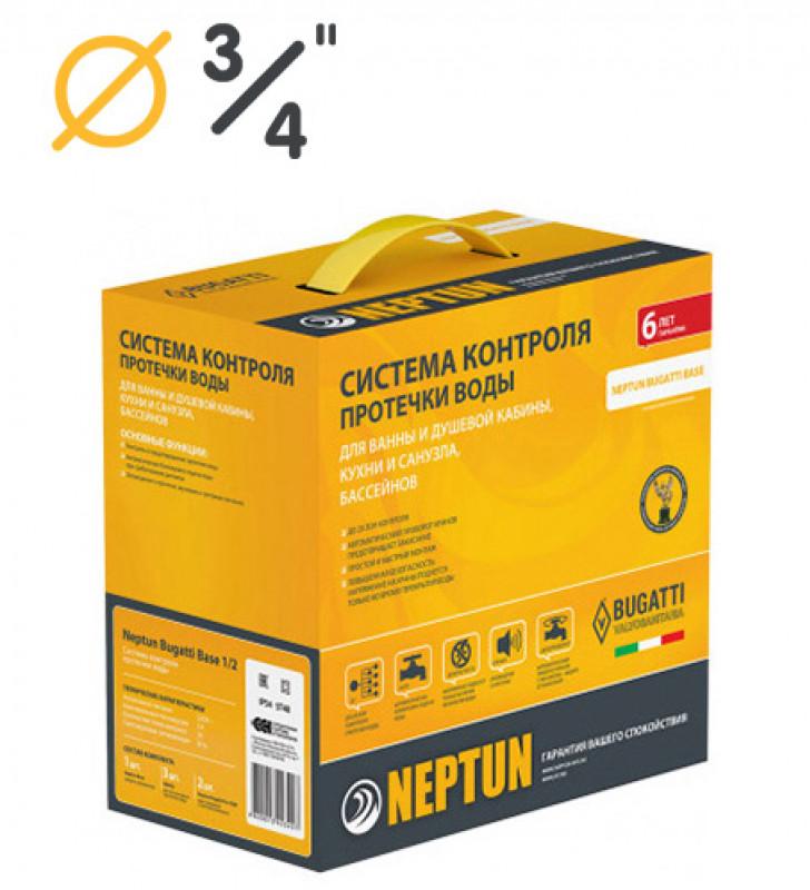 "Neptun Bugatti Base 3/4"" | Проводная система контроля от протечки воды"