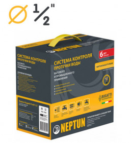 "Neptun Bugatti ProW 1/2"" | Проводная система контроля от протечки воды"