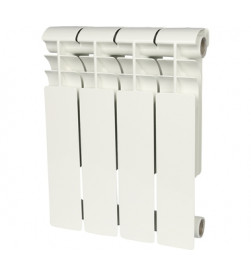 Биметаллический секционный радиатор Rommer Profi Bm 500 (Bi 500-80-150) x4 секции