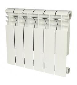 Биметаллический секционный радиатор Rommer Profi Bm 500 (Bi 500-80-150) x6 секций