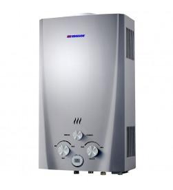 Газовый проточный водонагреватель Edisson F 20 D, цвет - серебряный