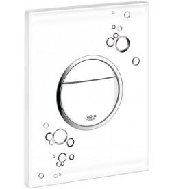 Кнопка смыва Grohe Nova Cosmopolitan 38847LI0 белая с черным