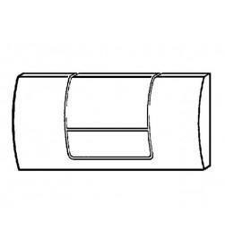 Кнопка смыва Viega Standard 1 Eco Plus (мат. хром) 449032