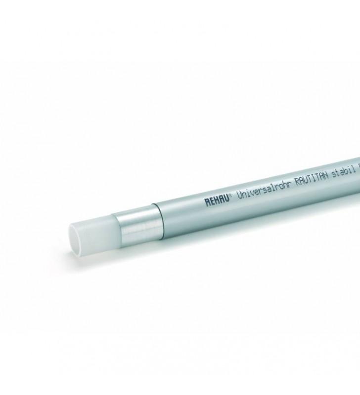 Труба Rehau RAUTITAN stabil универсальная металлополимерная, PE-X/AI/PE, 40х6,0