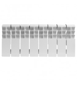 Алюминиевый секционный радиатор Rommer Plus 200 x10 секций