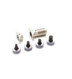 Комплект запрессовочных тисков для инструмента Rautool Rehau M1, для труб Rautherm S Тиски 17, 20 (арт.13775401)