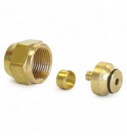 Адаптер резьбовой для трубы PEX-a Uponor S3,2 20х2,8 (Up 1045543)