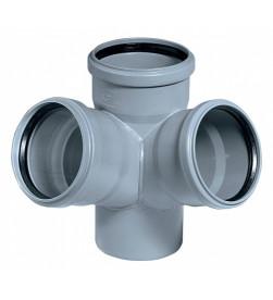 Крестовина для внутренней канализации Ostendorf HTDA 110/110*67 гр.