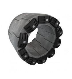 Комплект для прохода сквозь стену (фундамент) Thermaflex гидроизолирующий, давление воды до 1,5 bar FV-MD125KB