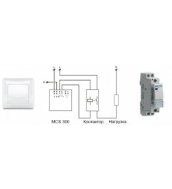 Терморегулятор для теплых полов Теплолюкс MCS 300