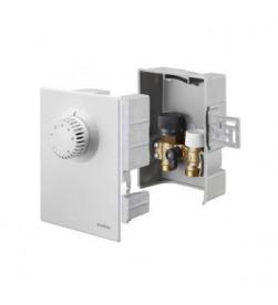 Набор терморегулятора Oventrop Unibox E plus, диапазон, С-7-28, белый