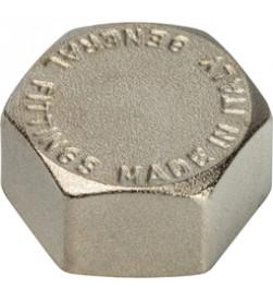 Заглушка Stout внутренняя резьба никелированная 2