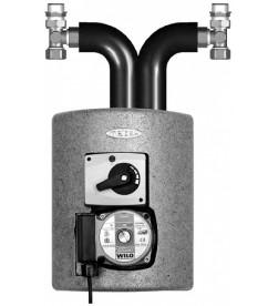Группа быстрого монтажа Meibes Thermix с сервомотором смесителя, Grundfos Alpha2 15-60