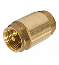 Клапан обратный Itap пружинный муфтовый с металлическим седлом 1/2, ART 100 EUROPA