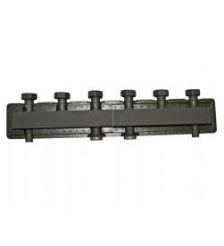 Коллектор Stout стальной распределительный 3 отопительных контура с гидравлическим разделителем DN 25, SDG-0018-0040