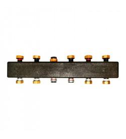 Настенный распределительный коллектор Meibes ME 66301.3 на 3 – 5 отопительных контуров
