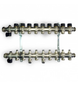 Гребенка для отопления Oventrop Multidis SF на 9 контуров, 1404059