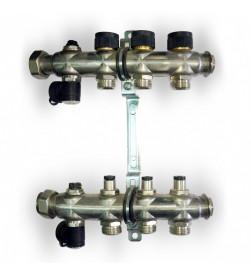 Гребенка для отопления Oventrop Multidis SF на 3 контура, 1404053
