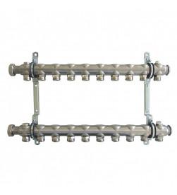 Гребенка для присоединения отопительных приборов Oventrop Multidis SH на 10 контуров, 1407060