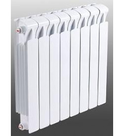 Биметаллический секционный радиатор Rifar Monolit 350 / 8 секций